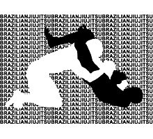 BRAZILIAN JIU JITSU MMA TRIANGLE CHOKE  Photographic Print