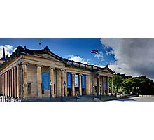 The National Gallery of Scotland Photographic Print