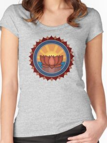 Locus Flower Women's Fitted Scoop T-Shirt