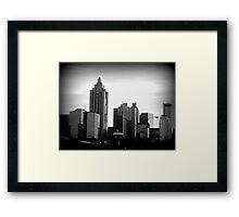Downtown Atlanta Framed Print