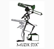 Trombonie - Muzik Stix Collection by Kimberly E Banks