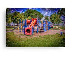 Emerson Playground Canvas Print