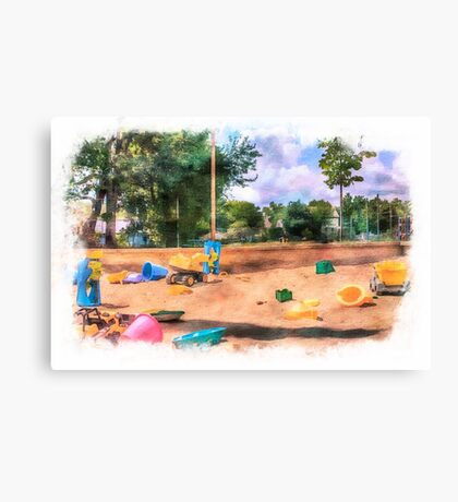 Sandbox at Emerson Canvas Print