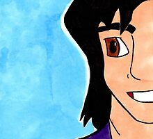 Cheeky Aladdin from Disney's Aladdin by Aphina