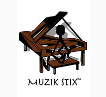 Keys - Muzik Stix Collection Womens Fitted T-Shirt