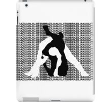 BRAZILIAN JIU JITSU MMA TRIANGLE CHOKE 2 iPad Case/Skin
