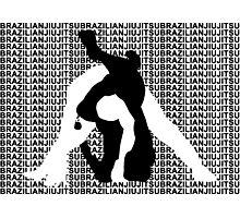 BRAZILIAN JIU JITSU MMA TRIANGLE CHOKE 2 Photographic Print