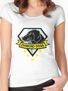 Diamond Dogs MGS V Star Women's Fitted Scoop T-Shirt