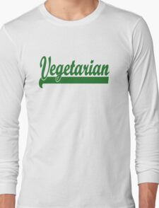 Vegetarian Long Sleeve T-Shirt