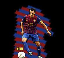 Xavi - BCN football player by ilmagatPSCS2