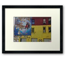 No, This Is Not Wall Street Framed Print