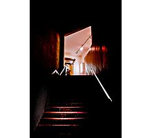 Rusty Stairs Photographic Print