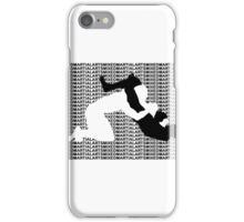MMA Mixed Martial Arts TRIANGLE CHOKE iPhone Case/Skin