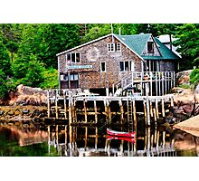Maine Nautical Scene Photographic Print