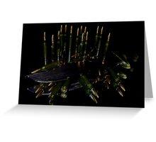 jaded brass Greeting Card