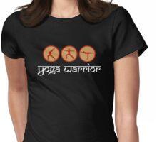 Yoga Warrior - Yoga T-Shirt Womens Fitted T-Shirt