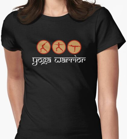 Yoga Warrior - Yoga T-Shirt Womens Fitted T-Shirt