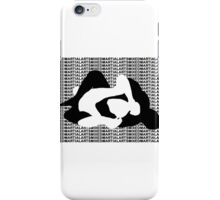MMA Mixed Martial Arts REAR NAKED CHOKE iPhone Case/Skin