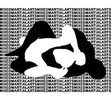MMA Mixed Martial Arts REAR NAKED CHOKE Photographic Print