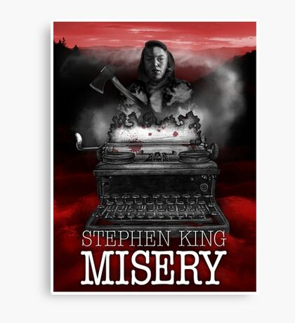 Misery Canvas Print