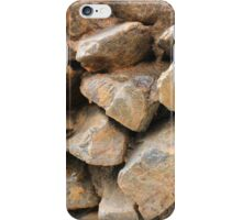 Rock Wall in a Park iPhone Case/Skin