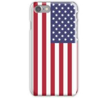 The Stars and Stripes Print iPhone Case/Skin