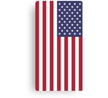 The Stars and Stripes Print Canvas Print