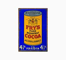 Tin Plate Sign - Fry's Breakfast Cocoa Unisex T-Shirt
