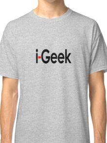 Cool Geek T-Shirt, Fashion Top & Sticker Gift For Fun Classic T-Shirt