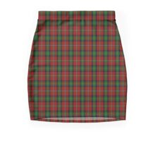 00031 Boyd Clan Tartan  Mini Skirt