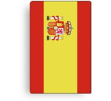 The Flag of Spain Print Canvas Print