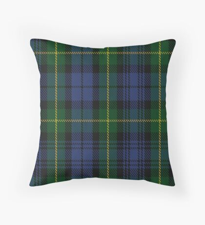 00034 Gordon Clan/Family Tartan Throw Pillow