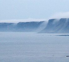 Mist over the Cliffs by TREVOR34