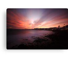 my favourite sunset Canvas Print