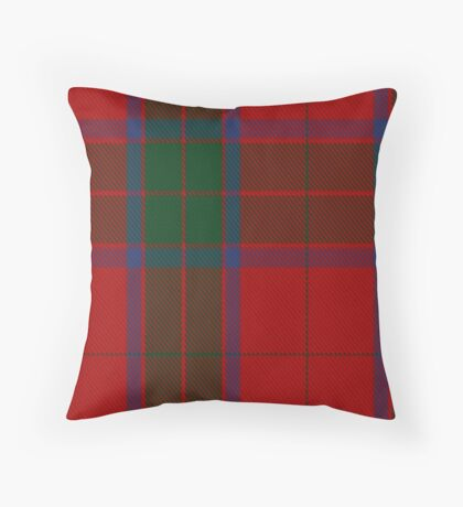 00036 Robertson Clan/Family Tartan  Throw Pillow