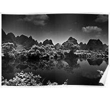 Dragon River Karst Views Poster