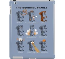 The Squirrel Family iPad Case/Skin