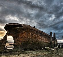 Boat Wreck by Robert Radford