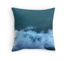 Over the Side Throw Pillow