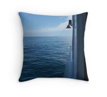 Ferry to P-Town Throw Pillow