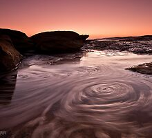 Swirling - Coogee by Andrew Kerr