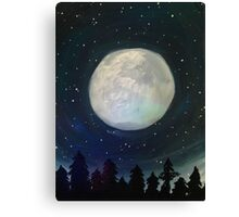 Moonlit Hush Canvas Print