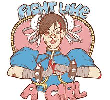 Fight Like A Girl by Seignemartin