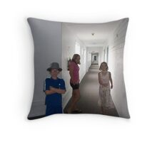 Hall Dwellers Throw Pillow