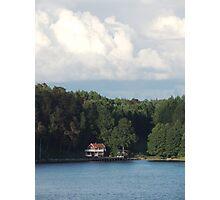 Island Home - Sweden Photographic Print