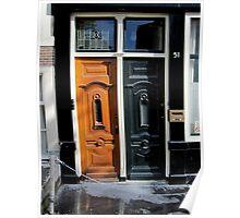 Doors of Europe-Amsterdam Poster