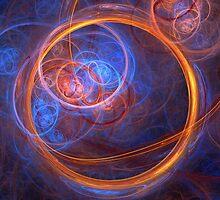 Rings of Oblivion - Ring Fractal by Keith Andersen