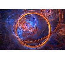 Rings of Oblivion - Ring Fractal Photographic Print