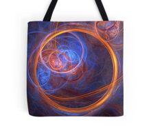 Rings of Oblivion - Ring Fractal Tote Bag