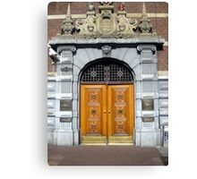 Doors of Europe-Amsterdam 1 Canvas Print